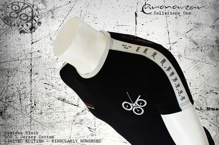 T SHIRT CHRONOWEAR ROLEX DAYTONA 16520 / 116520 - Black  - infos: info@chronowear.it