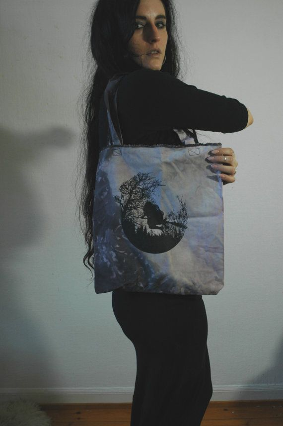 nn x Old Hag  HÄXSABBAT   Grey Marble Tote by raintower on Etsy, $30.00 Just got myself this!