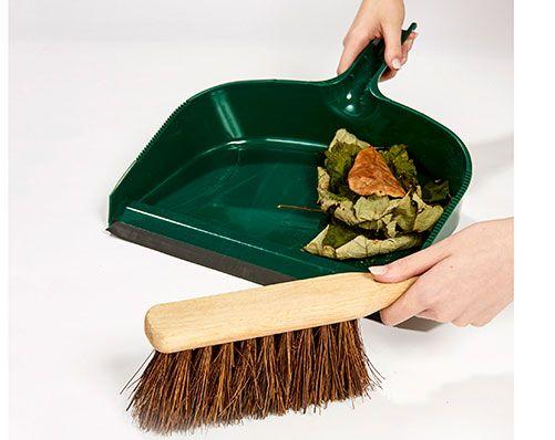 Jumbo Dustpan And Brush