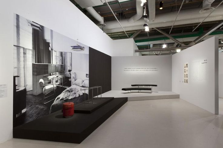View of the exhibition Eileen Gray at Centre Pompidou, Paris