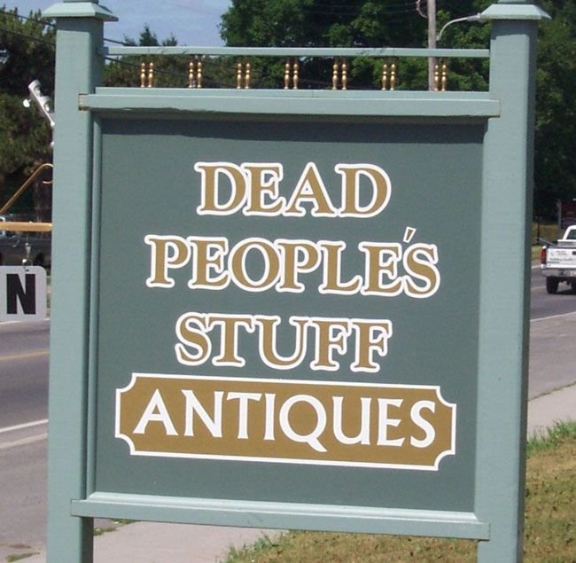 Dead People's Stuff Antiques stocks a mix of country pine furniture, both…