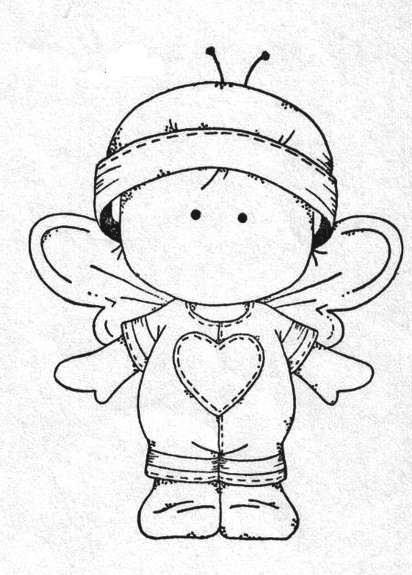 little fairy / bee baby