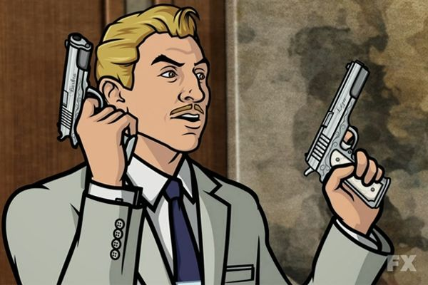 7. Ray Gillette Actor: Adam Reed Show: Archer