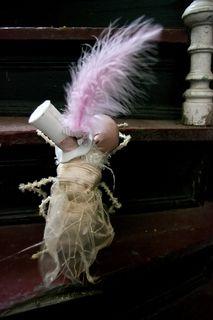 Albino Textile Fly by Lapino Handmade
