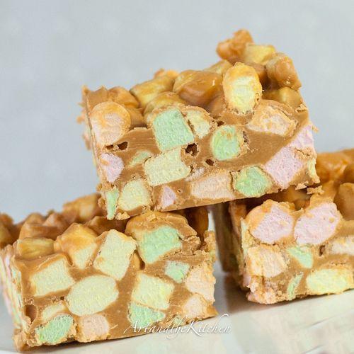 Butterscotch confetti squares