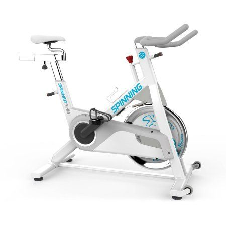 Spinner Bella Womens Indoor Cycling Bike with 4 Spinning DVDs