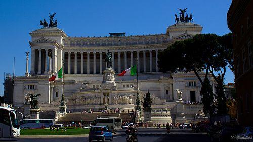 Vittoriano, Piazza Venezia Roma