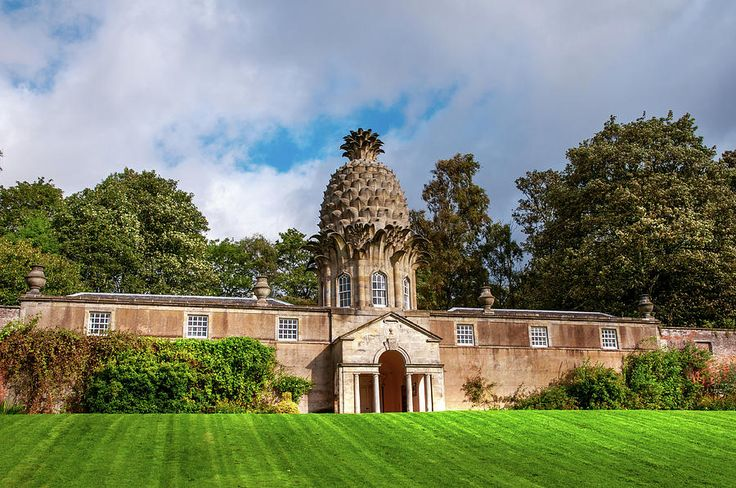 Dunmore Pineapple Building, Scotland Photograph by Jenny Rainbow