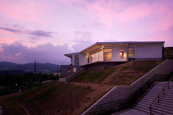 混構造の家 | house in a view 景色の中の家 | アーキッシュギャラリー