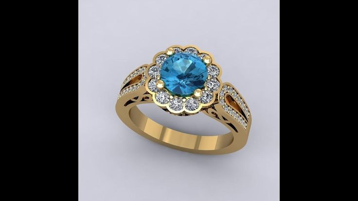 Stone Rings Designs  | Gold Finger Rings Designs for Female | Latest Gold Ring Designs For Women
