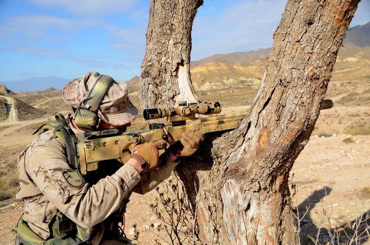 Sniper from spanish Legion.