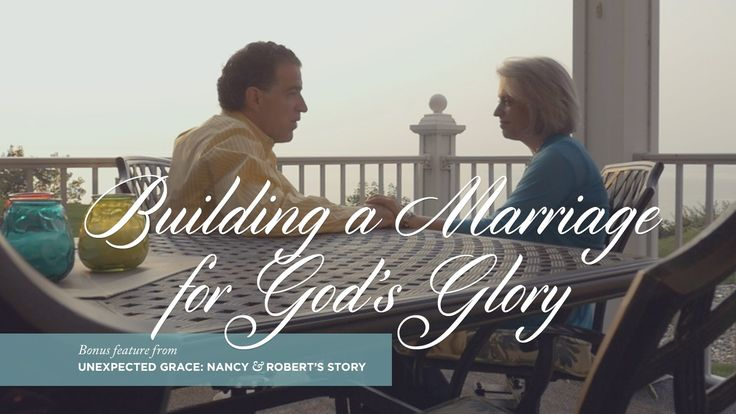While Nancy Leigh DeMoss and Robert Wolgemuth have a desire for God to use their marriage to encourage others, that's not their number one priority. Ultimately, they want to build a marriage for the glory of God under the power of the Holy Spirit.