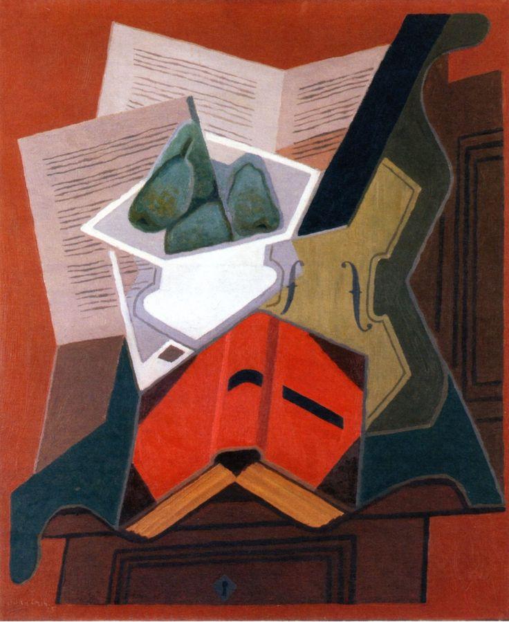 The Athenaeum - The Red Book (Juan Gris - )