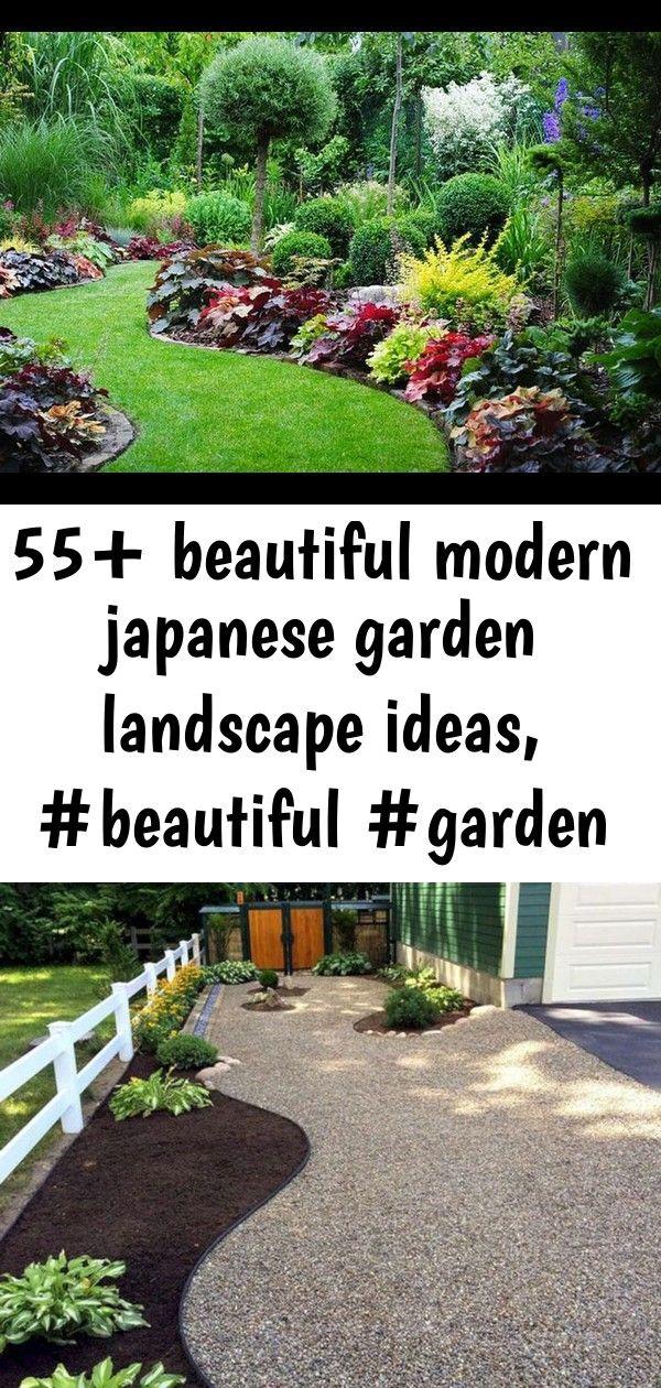 55 Beautiful Modern Japanese Garden Landscape Ideas Beautiful Garden Ideas Japanese Japanese Garden Landscape Modern Japanese Garden Japanese Rock Garden