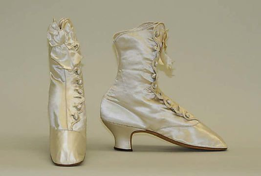 Shoes  Date: 1870–80 Culture: French