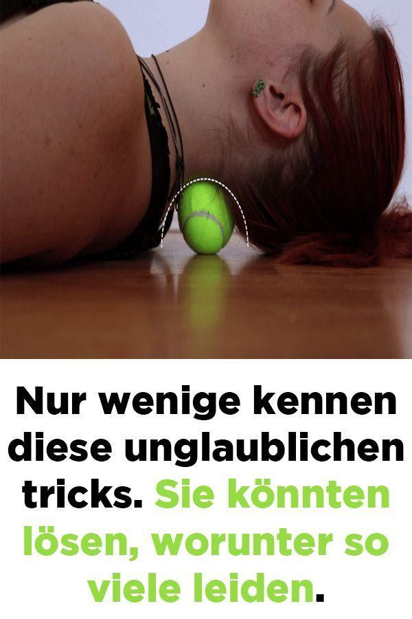 Nur wenige kennen diese unglaublichen tricks. Sie könnten lösen, worunter so viele leiden.