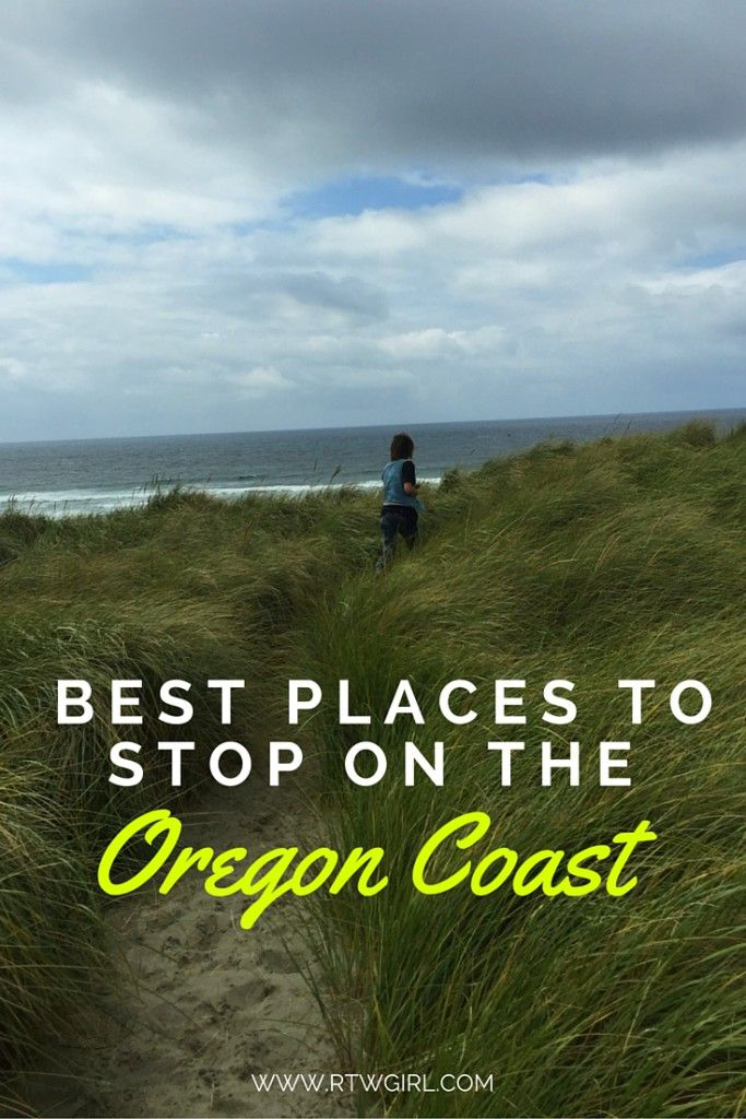 Map Of Oregon Coast%0A Best Places To Stop On The Oregon Coast   www rtwgirl com