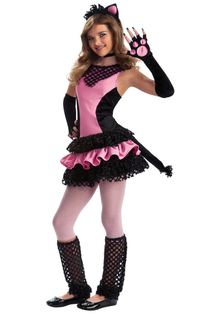 tween costumes for girls costume ideas insect and animal costumes cat costumes girls tween - Cat Outfit For Halloween