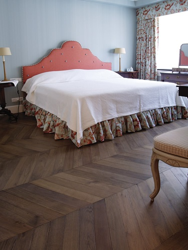 bohemian works - hungarian point flooring