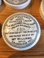 Royal Leamington Spa pot lid Mrs Williams