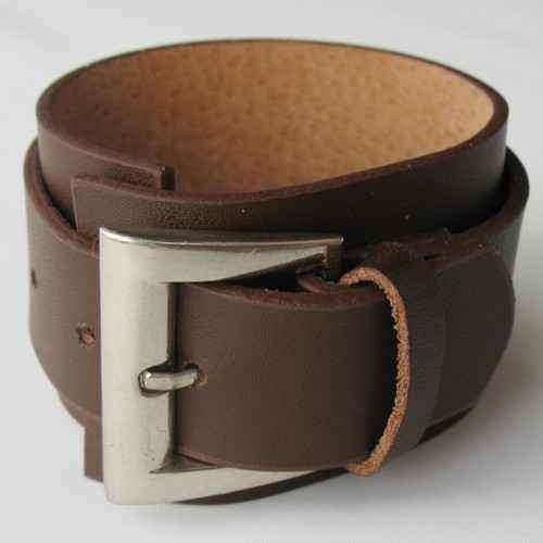 bracelete de couro masculino
