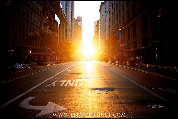 34th street and Madison - Manhattan Henge
