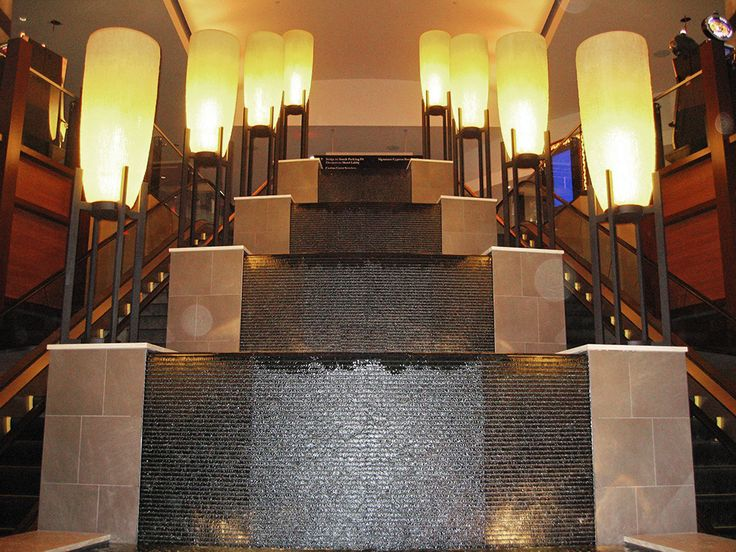 granite tile fountain