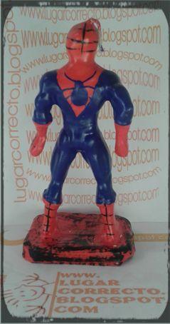 VELAS PARA PASTEL SPIDERMAN - más modelos en www.lugarcorrecto.blogspot.mx