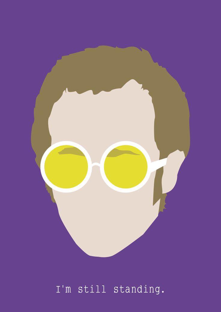 Elton John by Siwerski