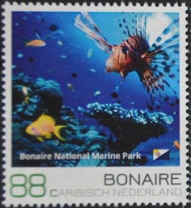 Stamp: Bonaire National Marine Park (Caribbean Netherlands) (Bonaire) Mi:BQ-BO 20