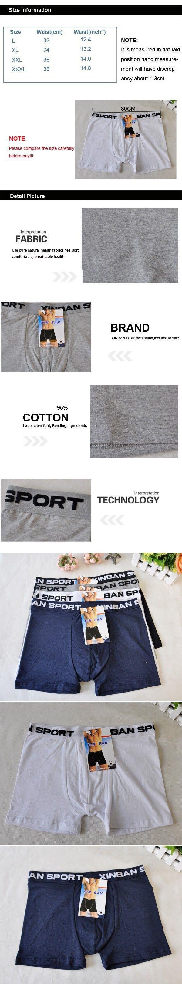 2016 Hot Sale Men's Boxers Boxer Shorts L XL XXL XXXL Cotton Underwear Men 5021   Read more at The Bargain Paradise : https://www.nboempire.com/products/2016-hot-sale-mens-boxers-boxer-shorts-l-xl-xxl-xxxl-cotton-underwear-men-5021/   2016 Hot Sale Men's Boxers Sports Boxer Shorts L XL XXL XXXL Cotton Underwear Men 5021