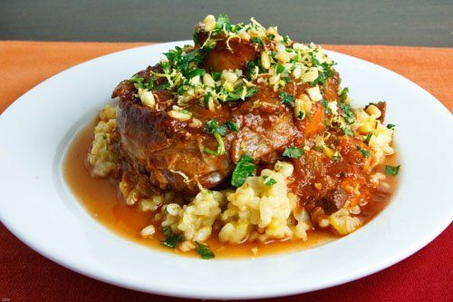 Osso Buco. I love this dish, so why don't I ever make it? Here's my first 2012 New Years resolution.