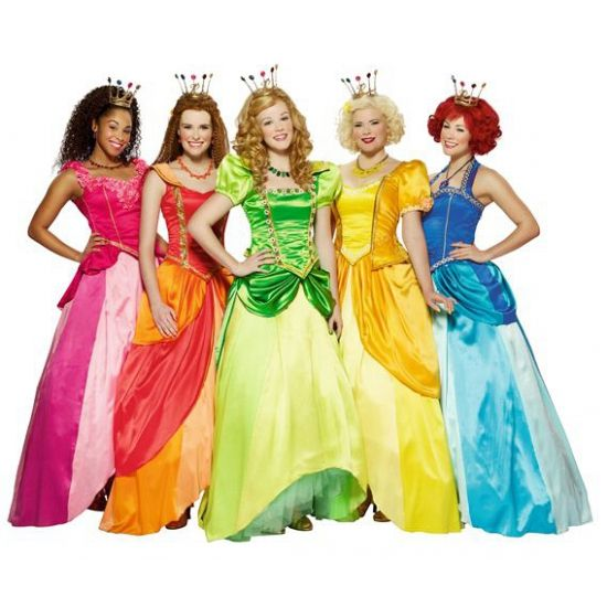 Roze Prinsessia Roos jurk voor meiden. Roze prinses Roos Prinsessia jurk. Ga verkleed als de ijdele prinses Roos in deze prachtige roze jurk. Carnavalskleding 2015 #carnaval
