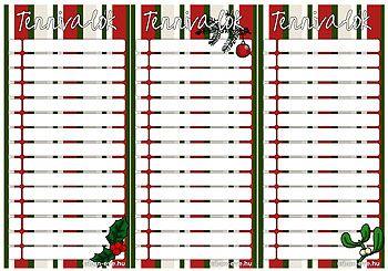 Nyomtatható karácsonyi jegyzetlap