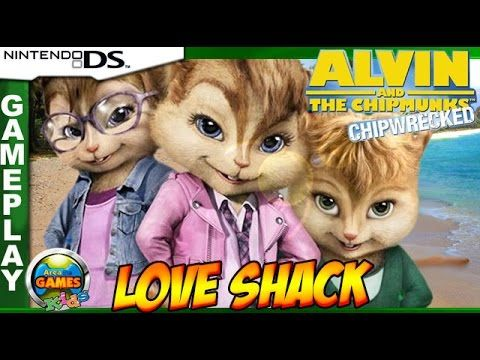 Alvin and the Chipmunks - Love Shack [Nintendo DS]