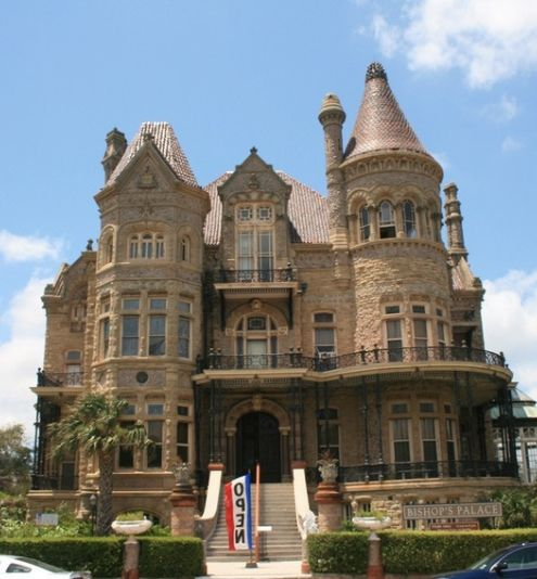Bishop's Palace (Gresham Castle) in Galveston, Texas.