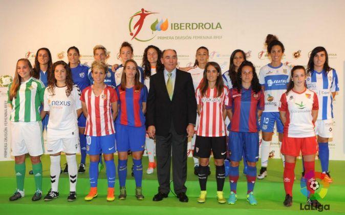 Presentación de Iberdrola como patrocinador oficial de la Primera...