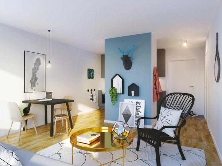 Compact living in Brf Blicken in Haninge.