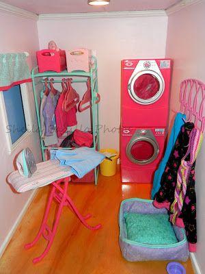 American Girl Doll Play: Amazing American Girl Doll House! Sooooo amazing!