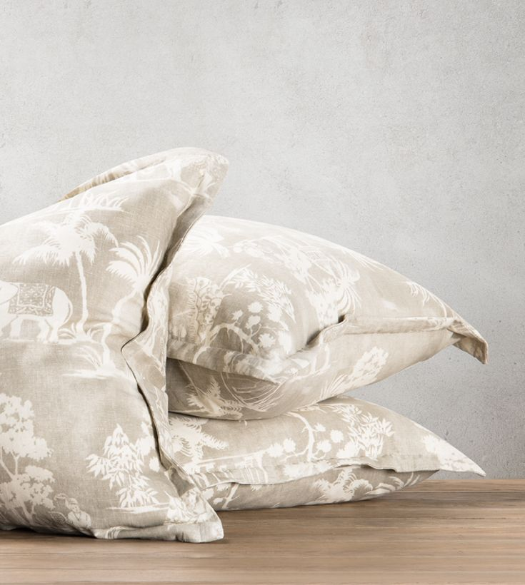 Dress up your sofa, occasional chair or bed with our Mandir linen scatter, it is a must have trending piece this season. www.shf.co.za