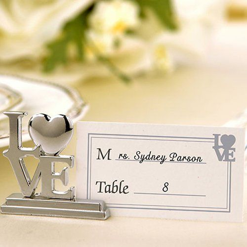 """""""LOVE"""" Place Card Holders"""