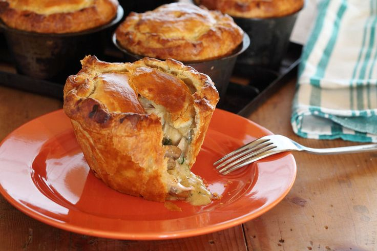 Maggie Beer Country Chicken and Mushroom Pies