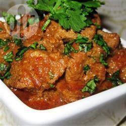 Vindaloo - Indiase curry met rundvlees @ allrecipes.nl