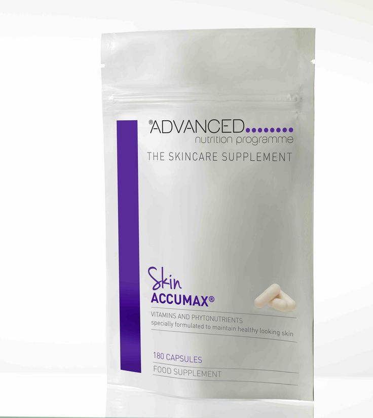 Aesthetic Medicine - Advanced Nutrition programme launches supersize Skin Accumax™