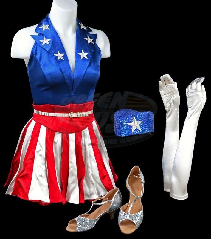 Captain America: The First Avenger - U.S.O. Dancing Girl Costume