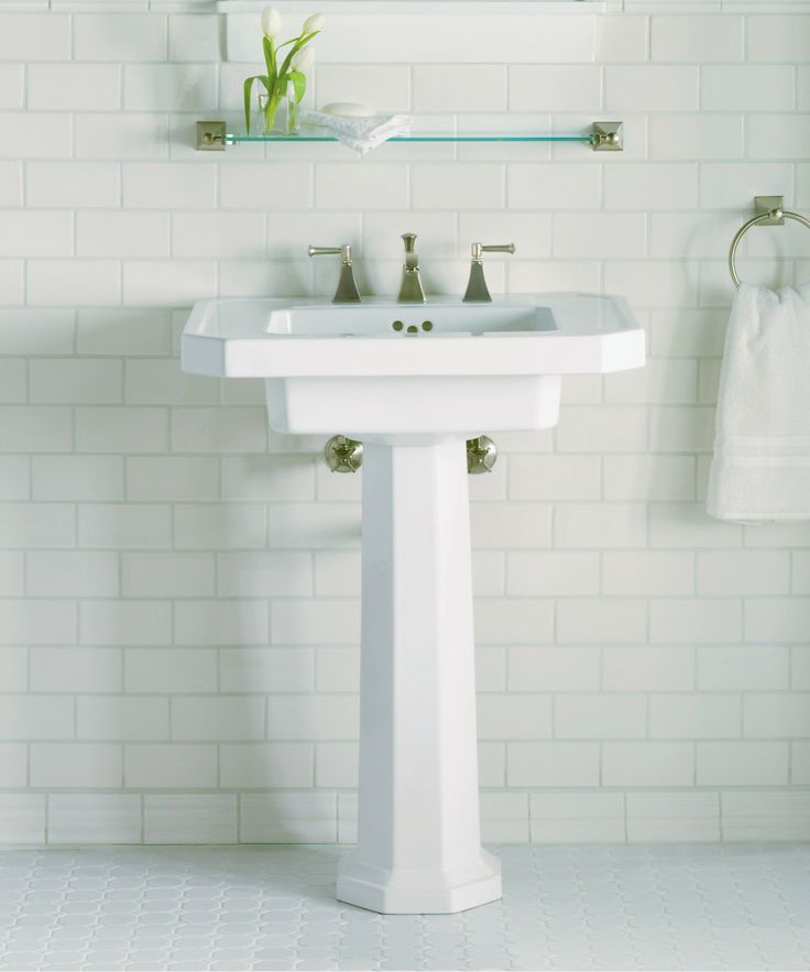hole cimarron sinks inch sink town single pedestal installation studyfinder square co kohler bathroom instructi