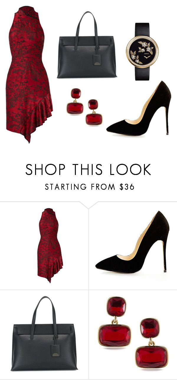 """""""Oriental Dinner"""" by acaguiar on Polyvore featuring Tom Ford, Lauren Ralph Lauren and Chanel"""