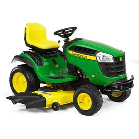 I can't afford a tractor with bucket loader just yet but I'm looking at this one for now! I hope I can find a snow thrower attachment! John Deere�D170 25-HP V-Twin Hydrostatic 54-in Riding Lawn Mower with Briggs  Stratton Engine
