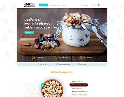 "Check out new work on my @Behance portfolio: ""JAKOB/ orechy-seminka.cz"" http://be.net/gallery/59854325/JAKOB-orechy-seminkacz"