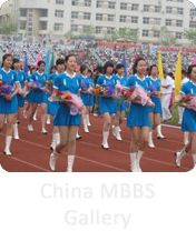 Sports Day Function in china university.